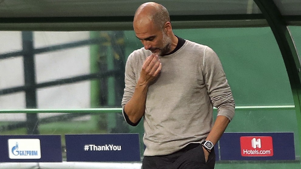 Pep Guardiola / AFP
