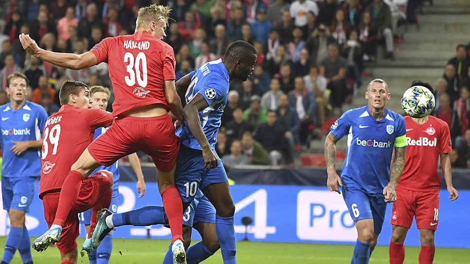 Genk vs Salzburgo EN VIVO ONLINE: Champions League 2019/20