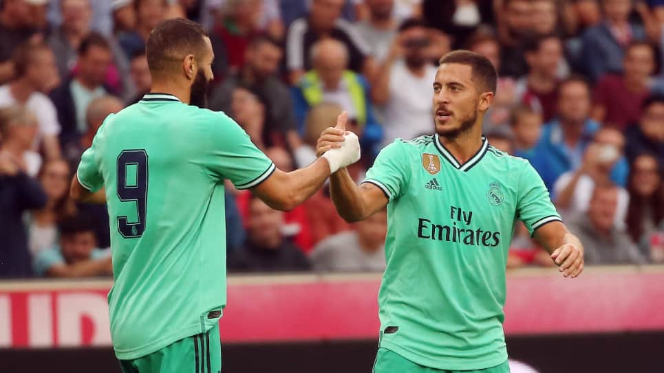 Gol Eden Hazard Real Madrid: primer gol