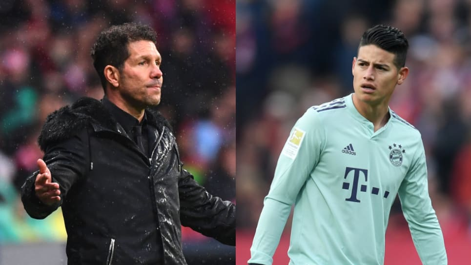 James Atlético de Madrid: Diego Cholo Simeone sobre su llegada