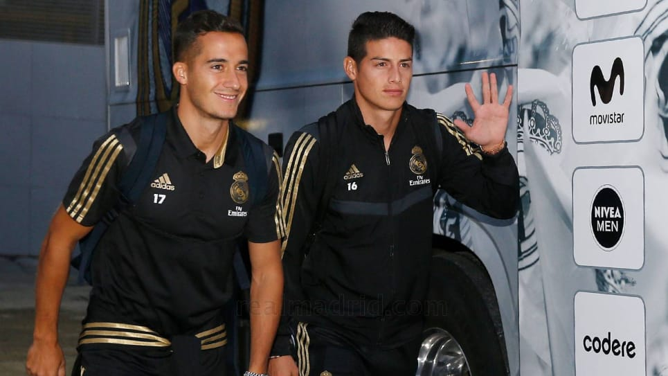 James Rodríguez, convocatoria Real Madrid-Levante: LaLiga
