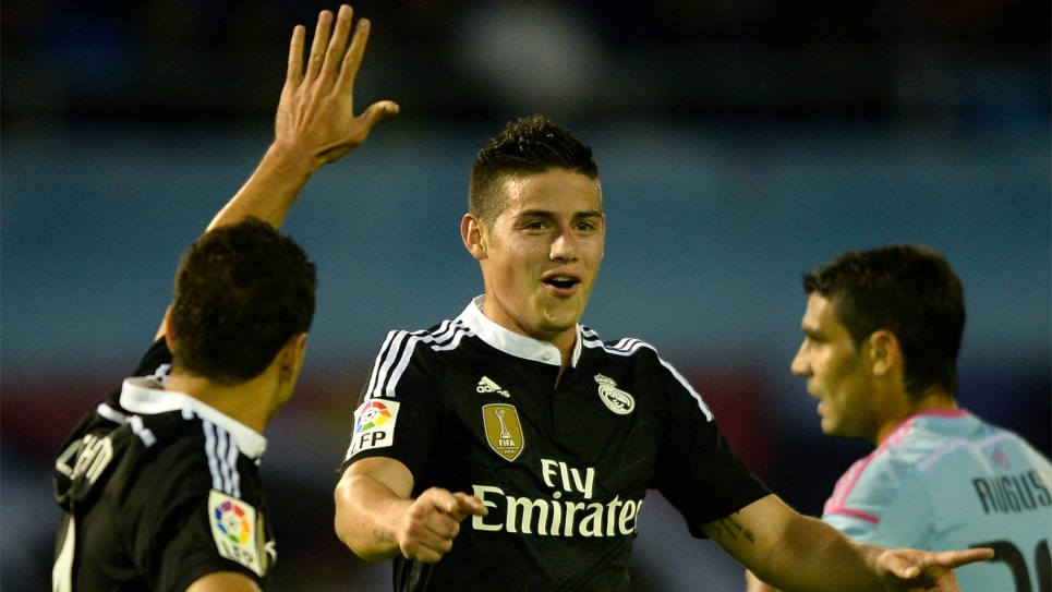 James: Real Madrid vs Celta James vuelve a jugar contra Celta