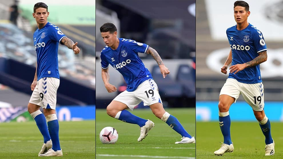 James Rodríguez / Everton Oficial