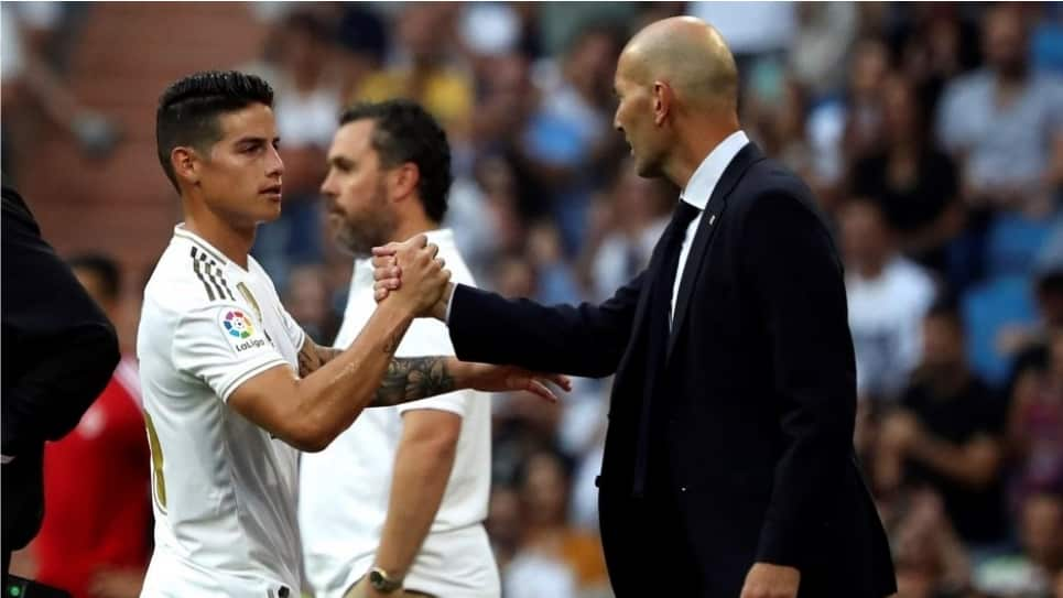 James portada Marca: reconquista Real Madrid y Zidane