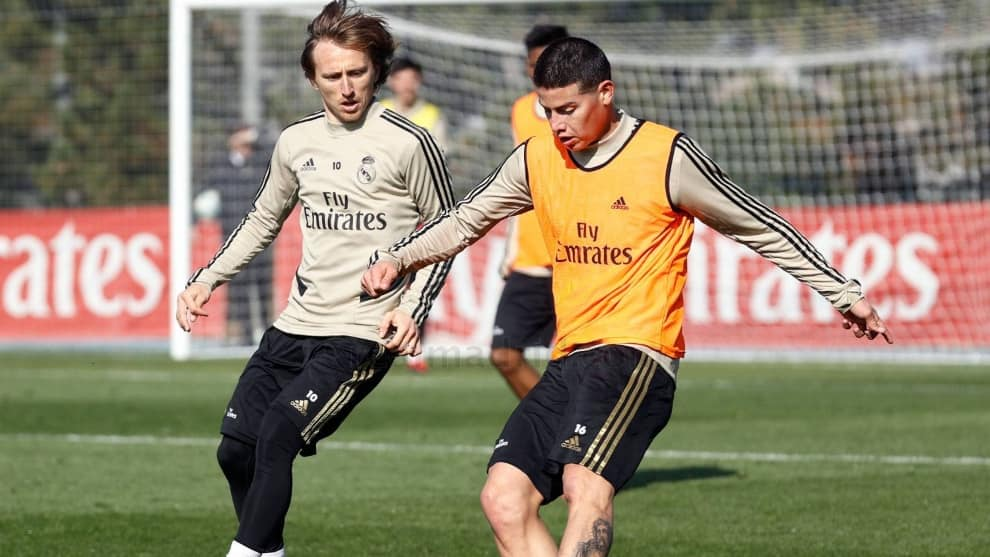 James Rodríguez, afuera de la convocatoria del Real Madrid