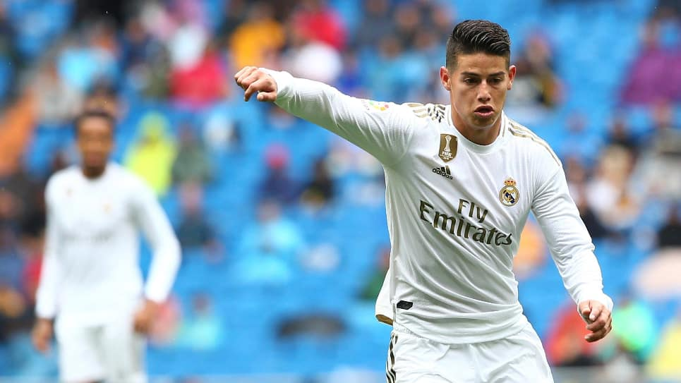 James Rodríguez real madrid vs levante: James declaraciones Real Madrid