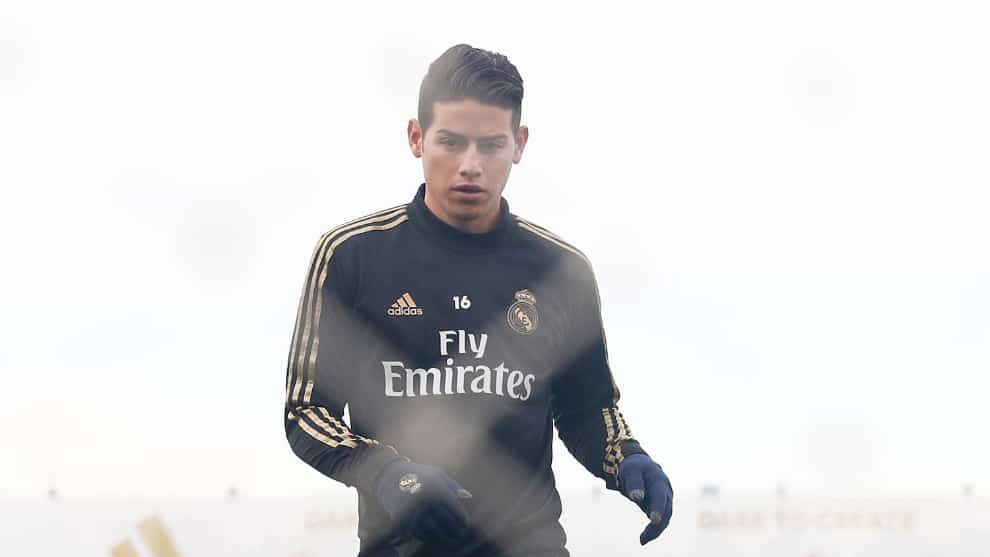 James Rodríguez recuperación Real Madrid