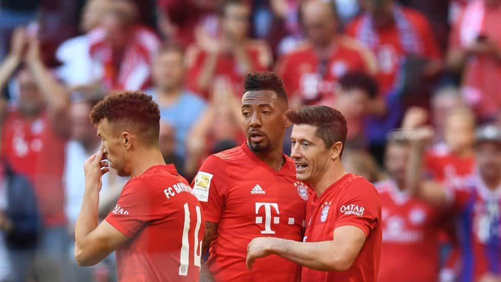 Jérôme Boateng pide a deportistas blancos