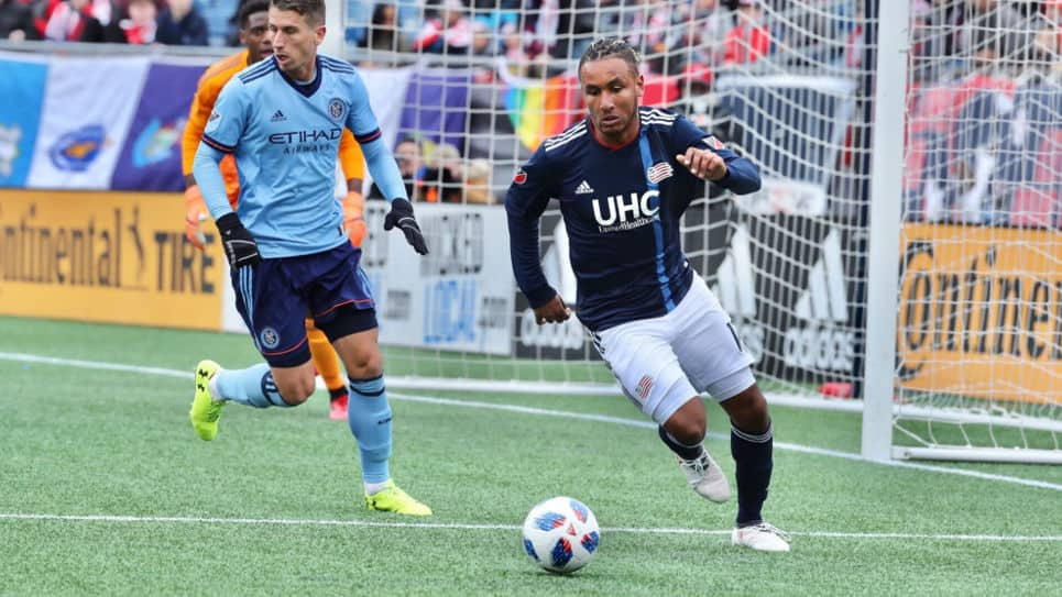 Colombiano Juan Agudelo marca en empate del New England Revolution ante New York City