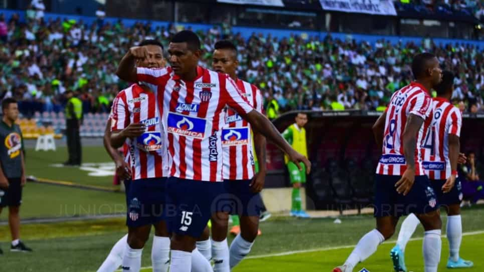 Luis Narváez se despide de Junior de Barranquilla: video