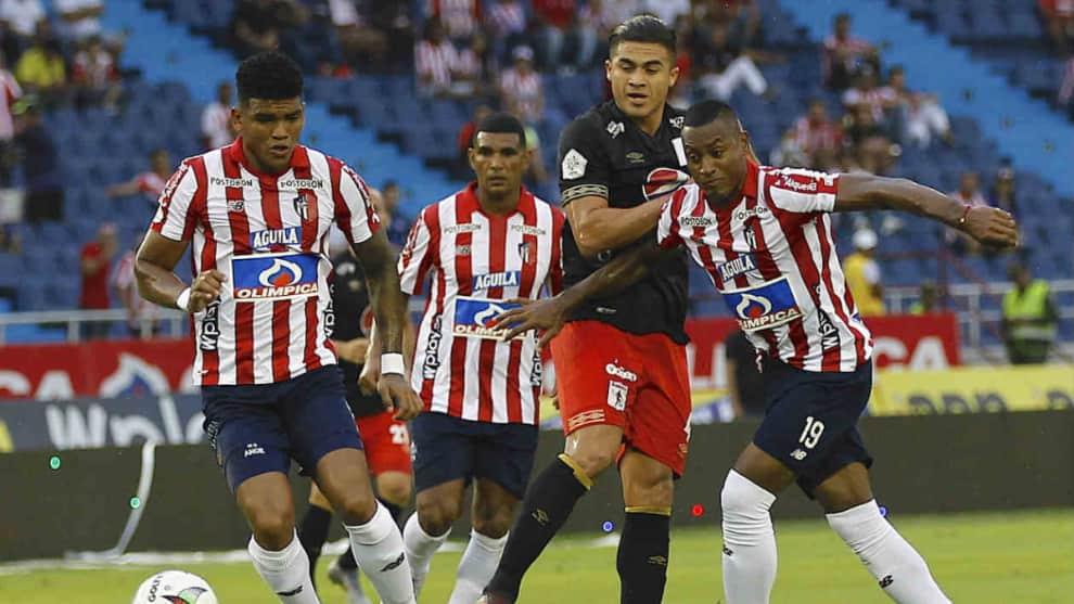 Junior vs América final ida Superliga Águila 2020