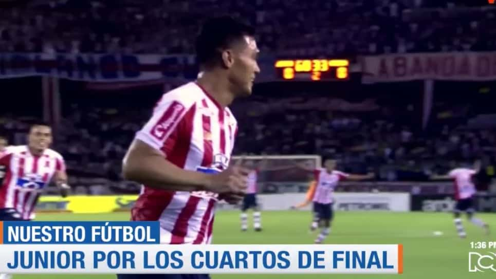 Bucaramanga vs Junior, octavos de final Copa Águila