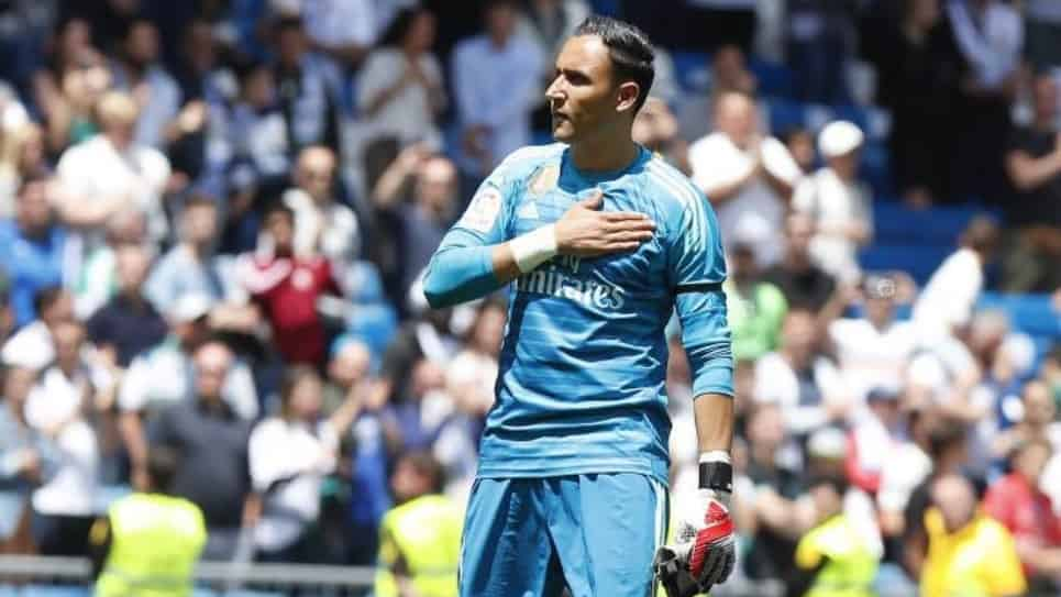 Keylor Navas despedida del Real Madrid