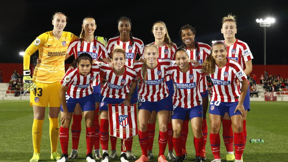 Leicy Santos Atlético de Madrid vs Manchester City: Champions Femenina