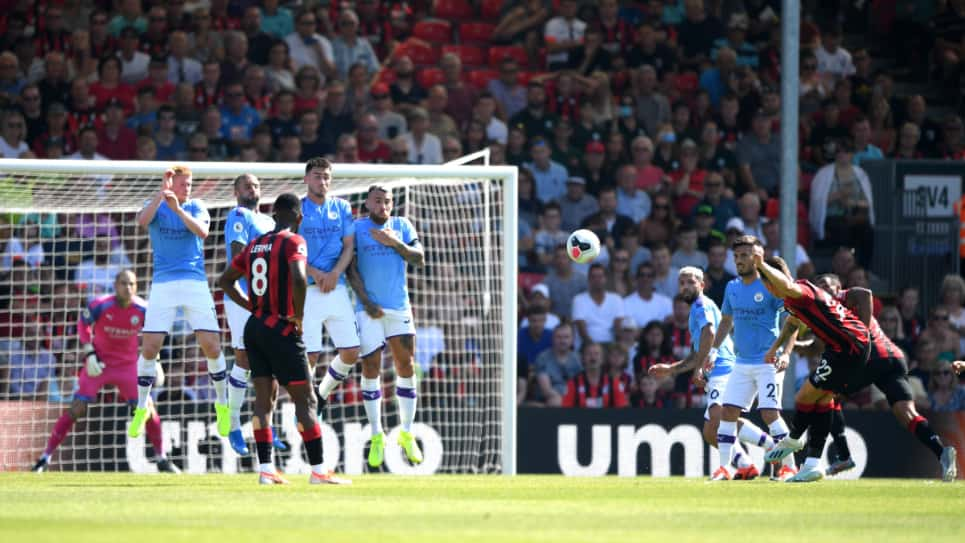Bournemouth vs Manchester City: goles, resultado y resumen 1-3: Premier League