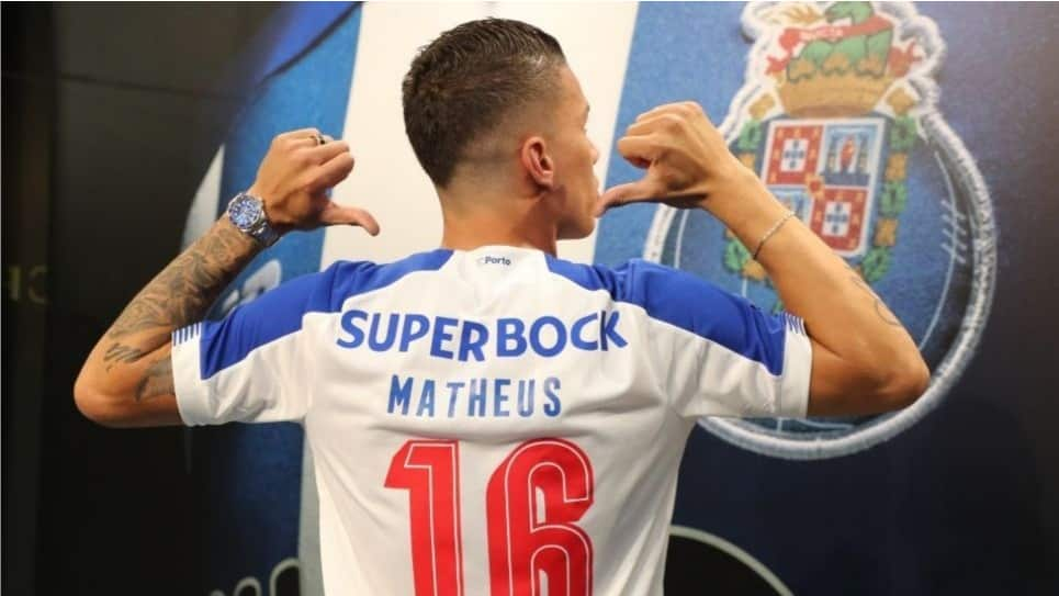 Mateus Uribe debut FC Porto Champions League