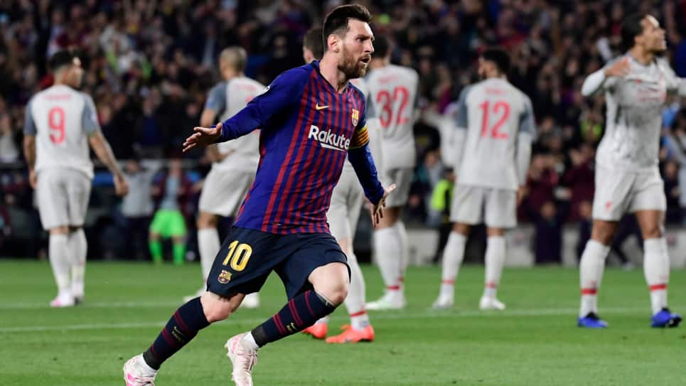 Messi mejor gol UEFA: Gol de Messi a Liverpool