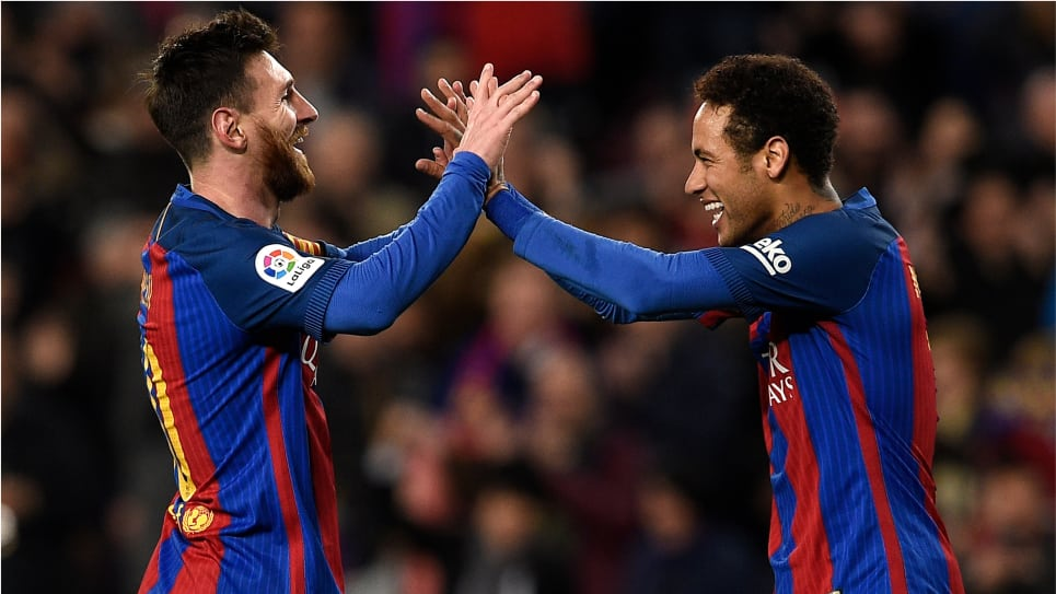 Messi Neymar Barcelona: mensaje France Football