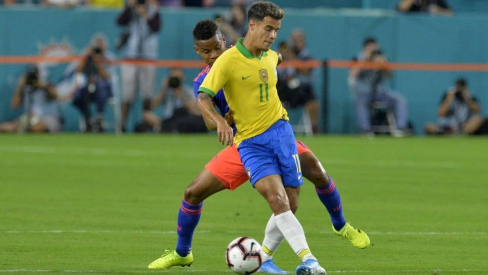 Colombia vs Brasil EN VIVO ONLINE: amistoso internacional