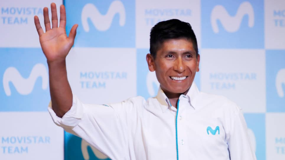 Despedida de Nairo Quintana del Movistar Team