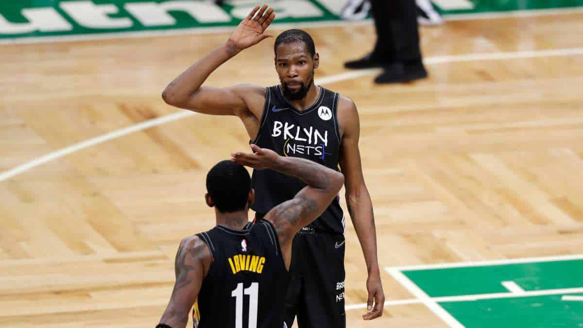 Nets de Kyrie Irving y Kevin Durant