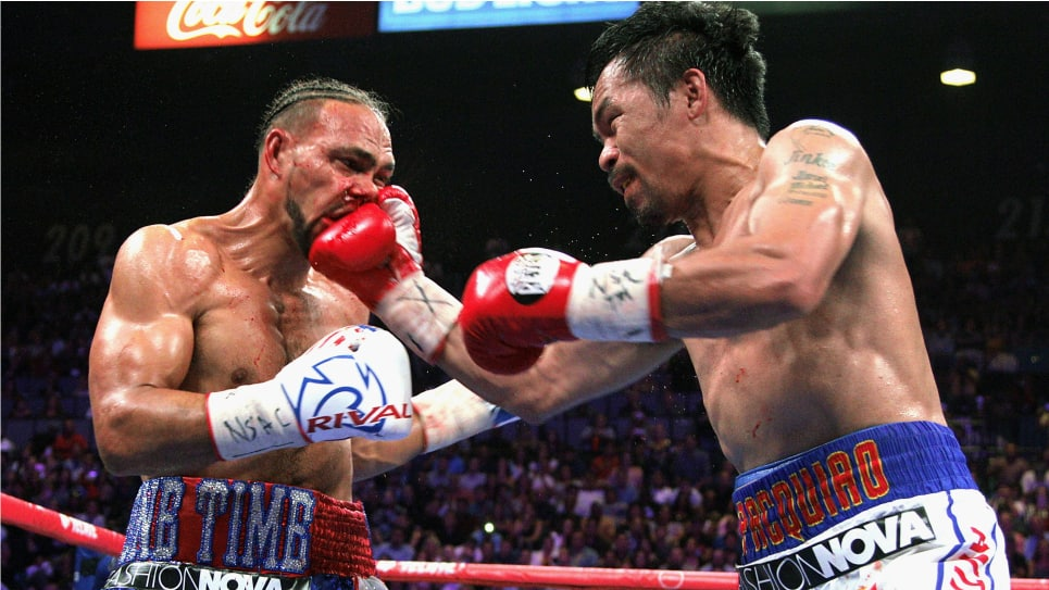 Manny Pacquiao campeón mundial welter: combate Thurman