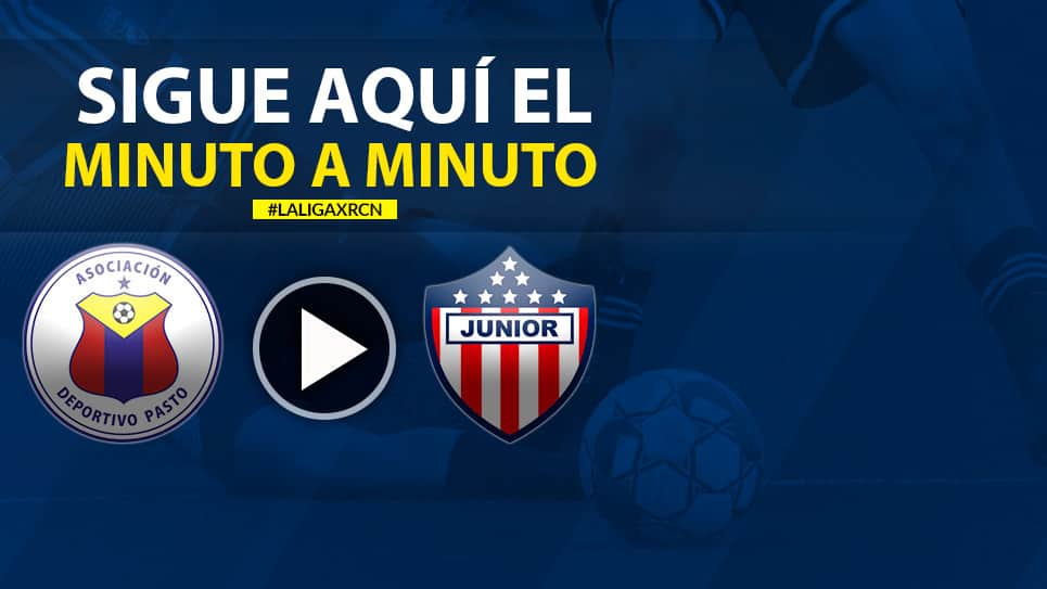 Pasto vs Junior EN VIVO ONLINE: Final Liga Águila 2019-I Vuelta