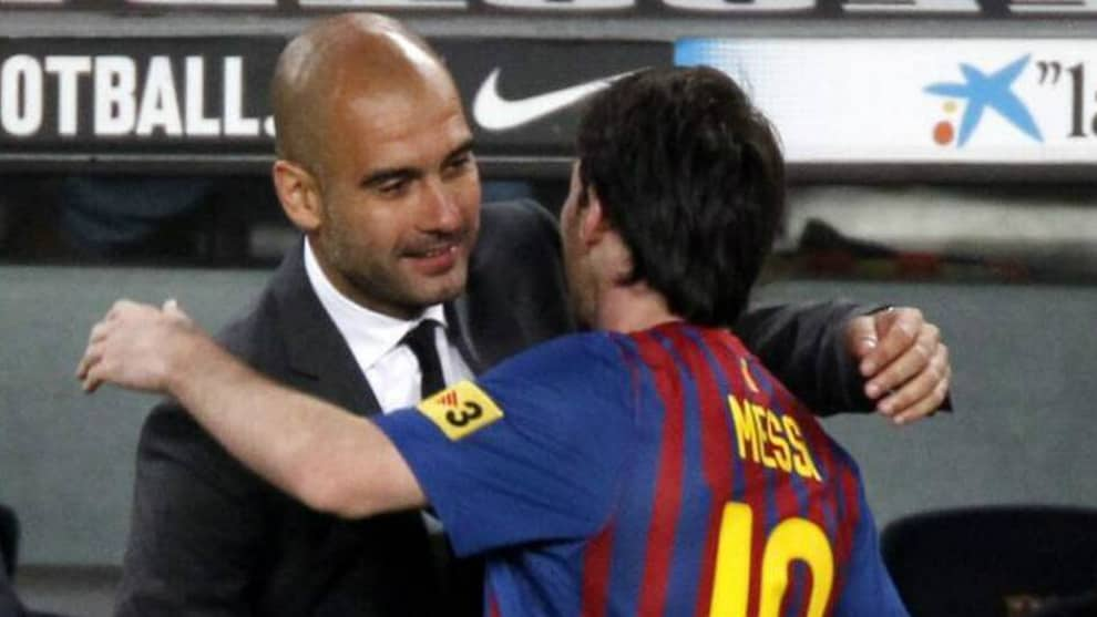 Guardiola sobre Messi