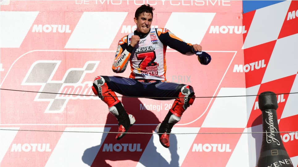 Marc Márquez consigue su séptima Pole Position en la temporada