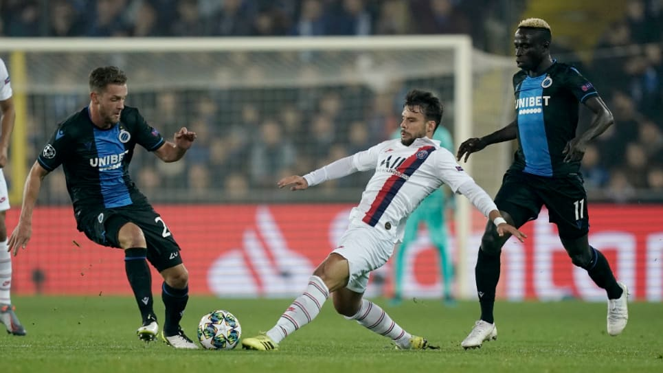 PSG vs Brujas EN VIVO ONLINE: Champions League 2019/20