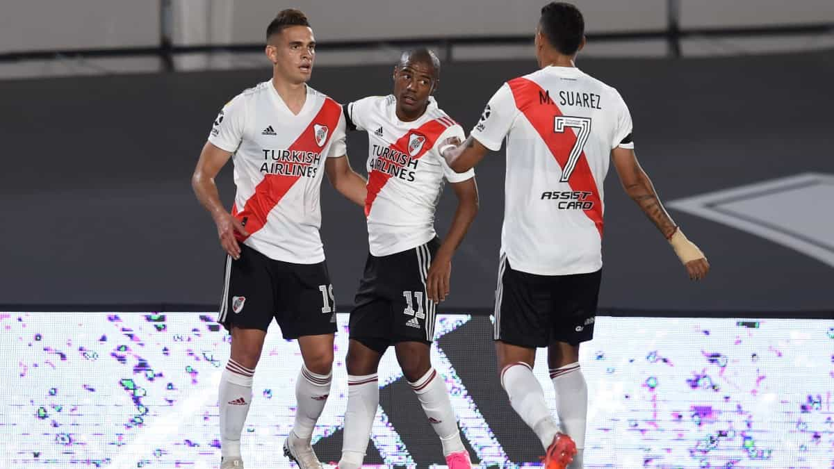 Gol Borré y debut Palavecino, River 3-0 Rosario Central