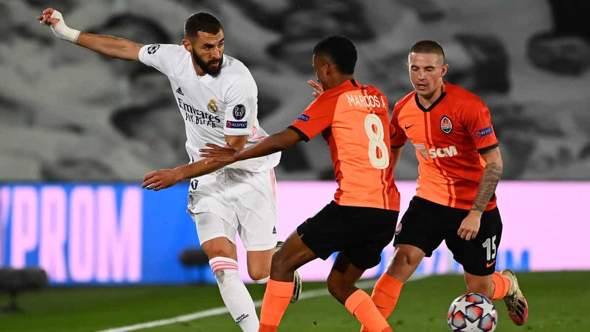 Shakhtar vs Real Madrid EN VIVO ONLINE: Champions League 2020/21 / AFP