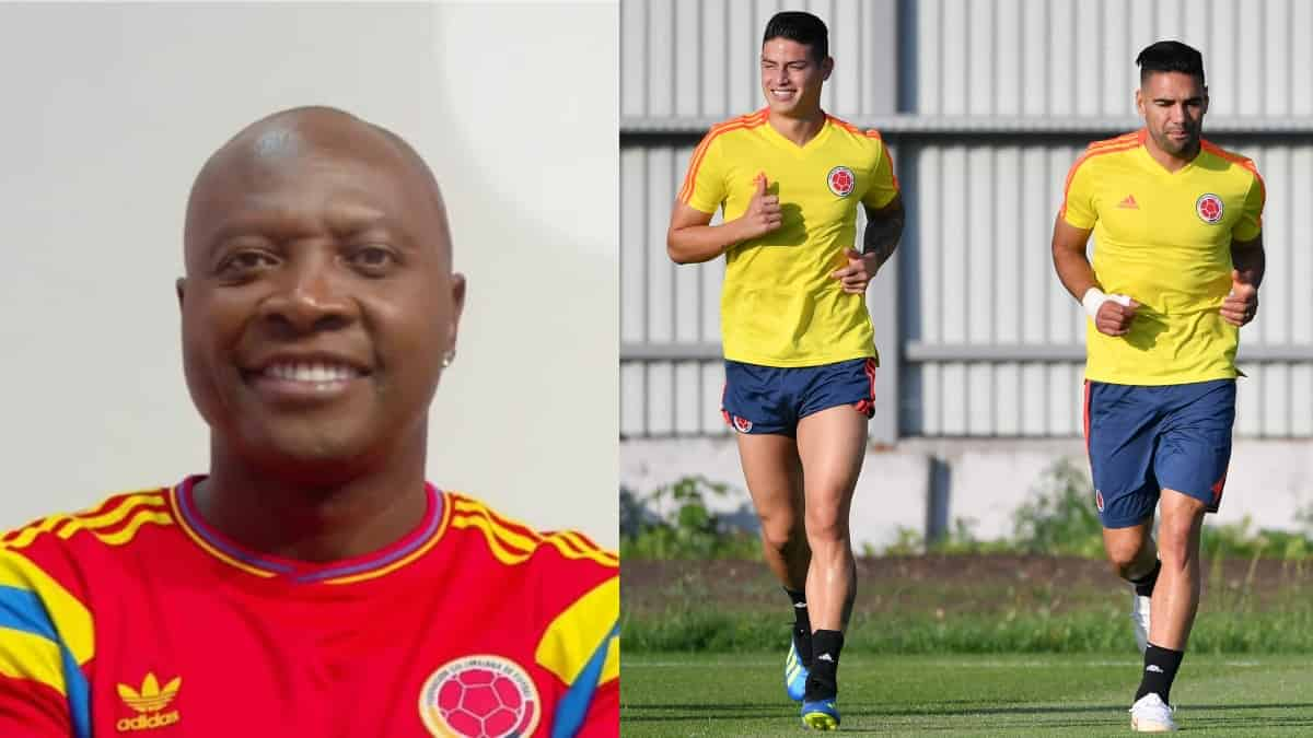 Freddy Rincón: Falcao y James