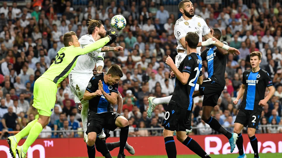 Brujas vs Real Madrid EN VIVO ONLINE: Champions League 2019-2020