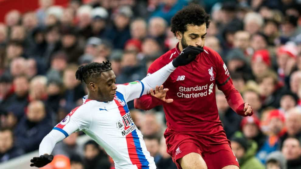 Mohamed Salah. Liverpool vs. Crystal Palace / AFP