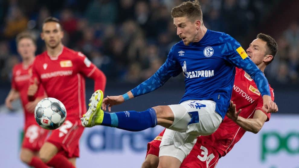 Schalke 04 vs. Union Berlin. Bundesliga 2019/20 / AFP
