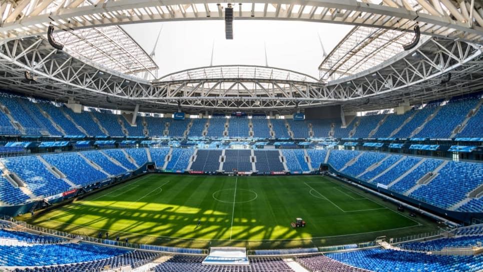 Estadio de San Petersburgo, sede final Champions League 2020-2021
