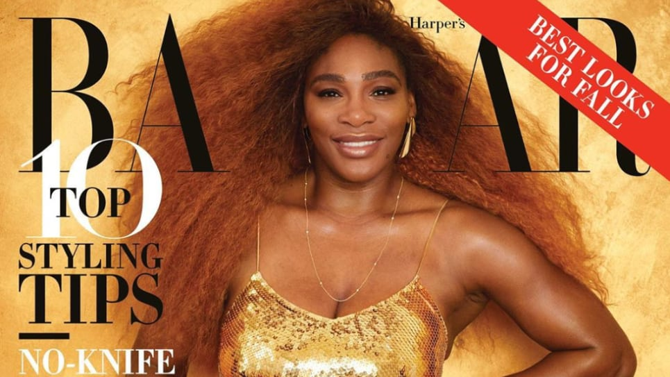 Serena Williams: Portada de revista