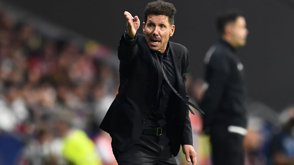 Real Madrid vs Atlético de Madrid: declaraciones de Simeone