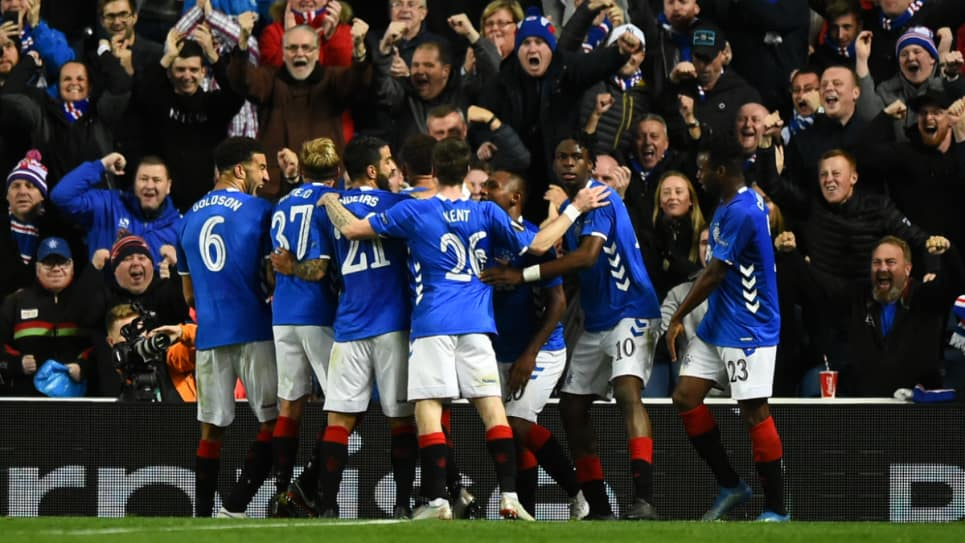 La UEFA sanciona al estadio del Rangers en la Europa League