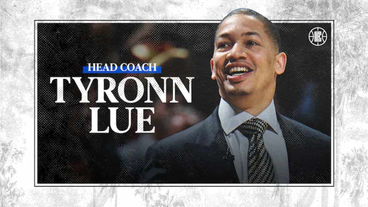 Los Clippers anuncian a Ty Lue
