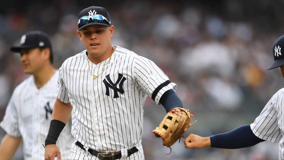 Giovanny Urshela, atrapada Yankees 9-2 Red Sox