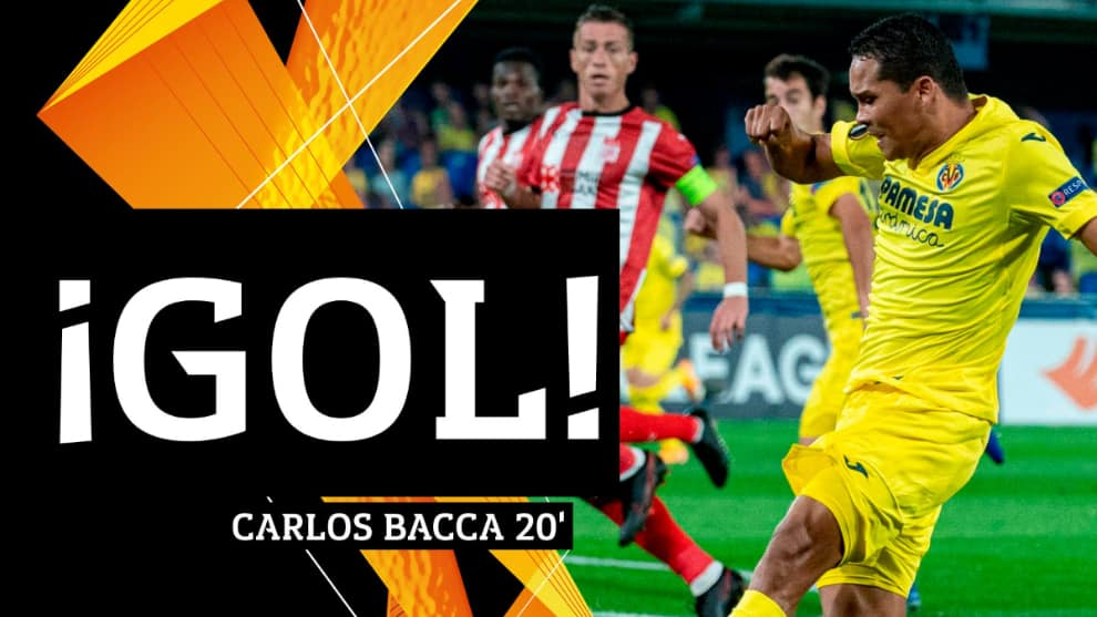Gol de Carlos Bacca Villarreal vs Savisspor: Europa League