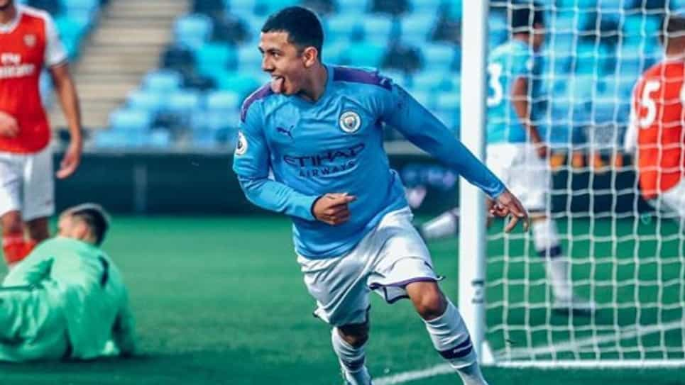 Ian Carlo Poveda gol Manchester City vs Shakhtar Uefa Youth League