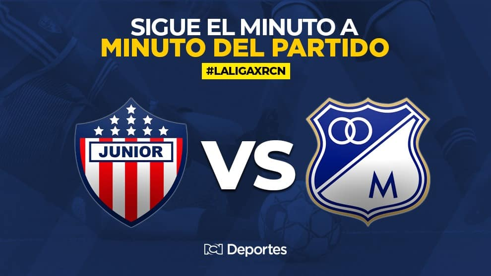 Junior vs Millonarios EN VIVO ONLINE: Liga BetPlay 2020
