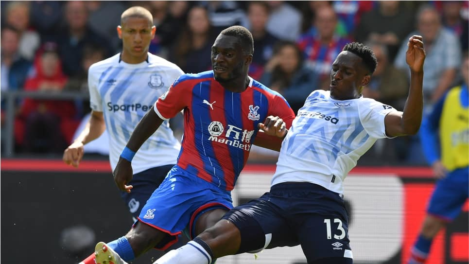 Yerry Mina titular Everton 0-0 Crystal Palace: resultado y resumen Fecha 1 Premier League