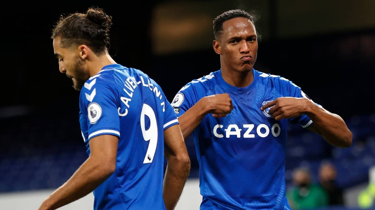 Yerry Mina, once ideal