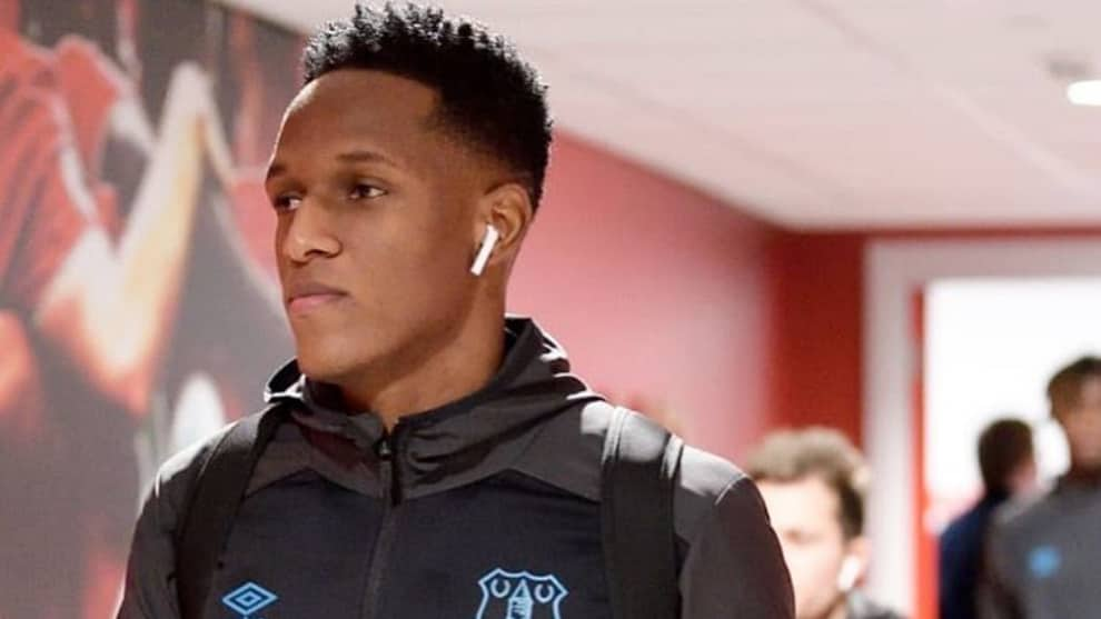 Everton nuevo estadio para Yerry Mina en la Premier League
