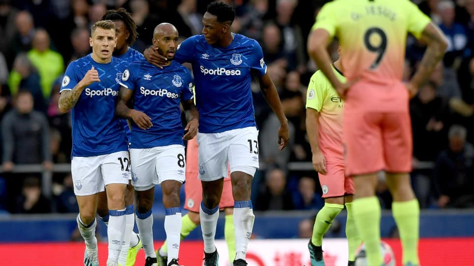 Yerry Mina, Everton vs Manchester City: 1 - 3 Premier League