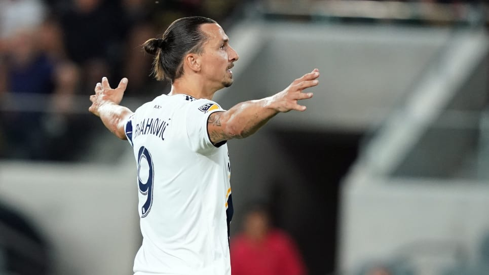 Zlatan Ibrahimovic, tres goles LA Galaxy vs Sporting KC: MLS